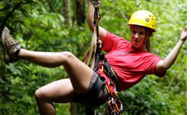 Zipline Canopy Tour a Bocas del Toro