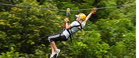 Panama längste Zipline Tour ist in Boquete