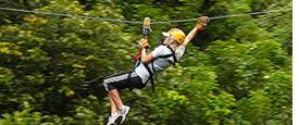 Langste zipline Panama's tour is in Boquete